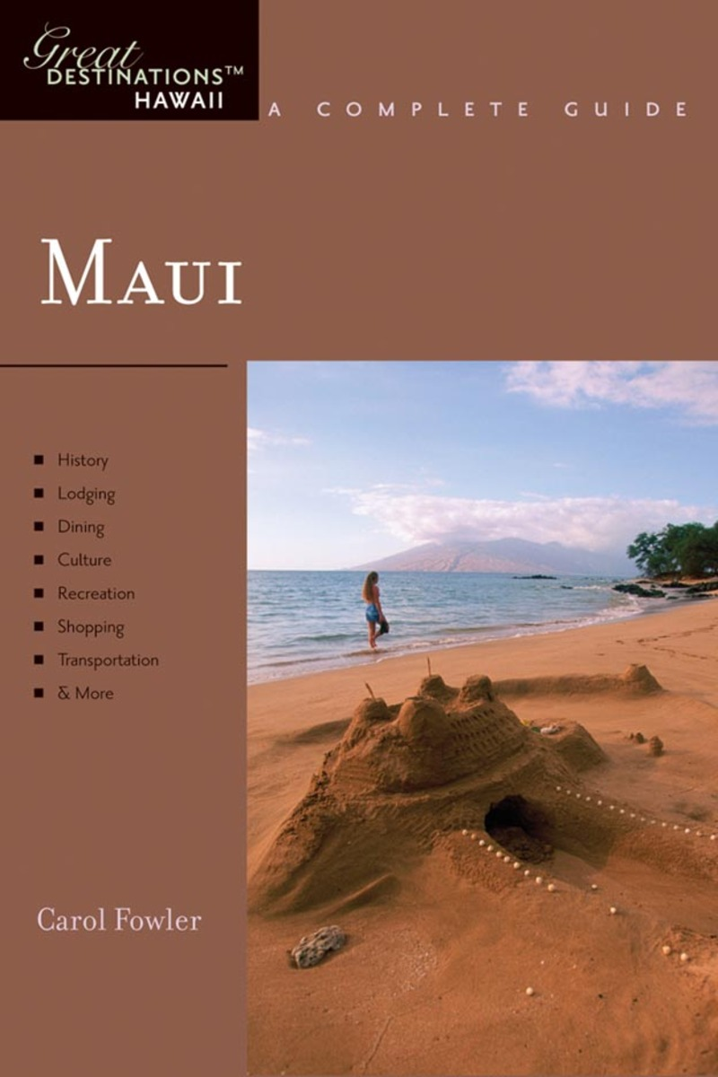 Book cover for Explorer's Guide Maui by Carol Fowler