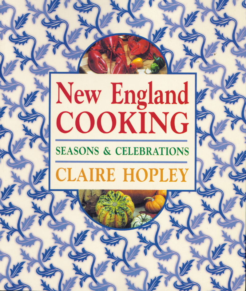Book cover for New England Cooking by Claire Hopley