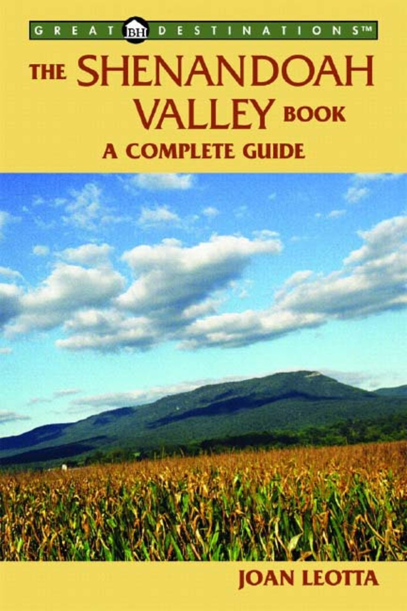 Book cover for The Shenandoah Valley Book by Joan Leotta