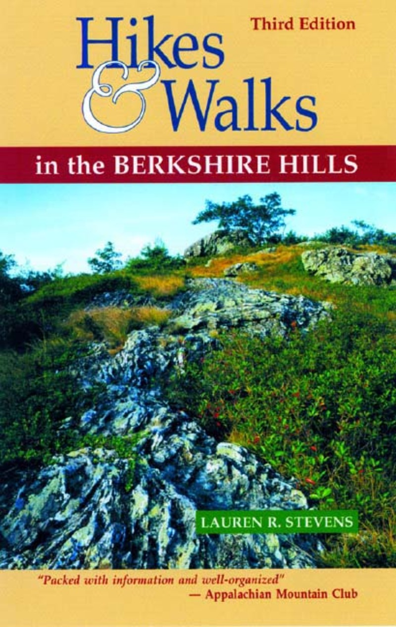 Book cover for Hikes & Walks in the Berkshire Hills by Lauren R. Stevens
