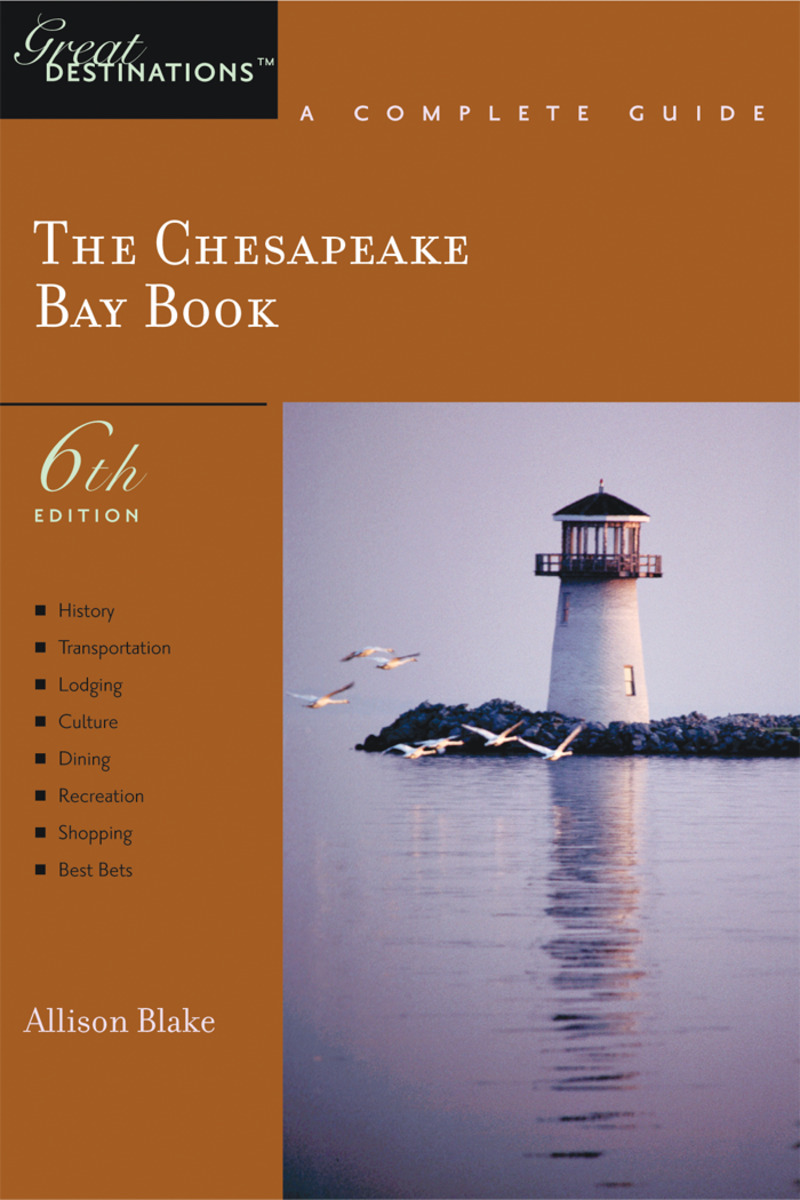 Book cover for Explorer's Guide Chesapeake Bay: A Great Destination by Allison Blake