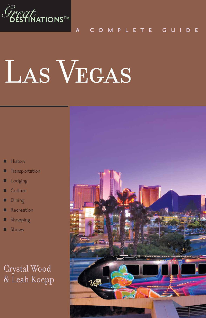 Book cover for Explorer's Guide Las Vegas: A Great Destination by Crystal Wood