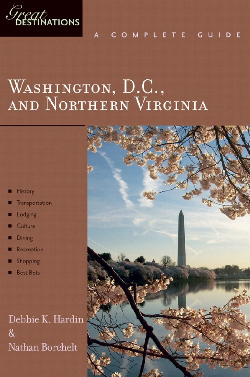 Book cover for Explorer's Guide Explorer's Guide Washington, D.C., and Northern Virginia: A Great Destination by Debbie K. Hardin