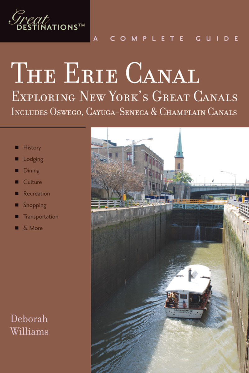 Book cover for Explorer's Guide Erie Canal: A Great Destination by Deborah Williams