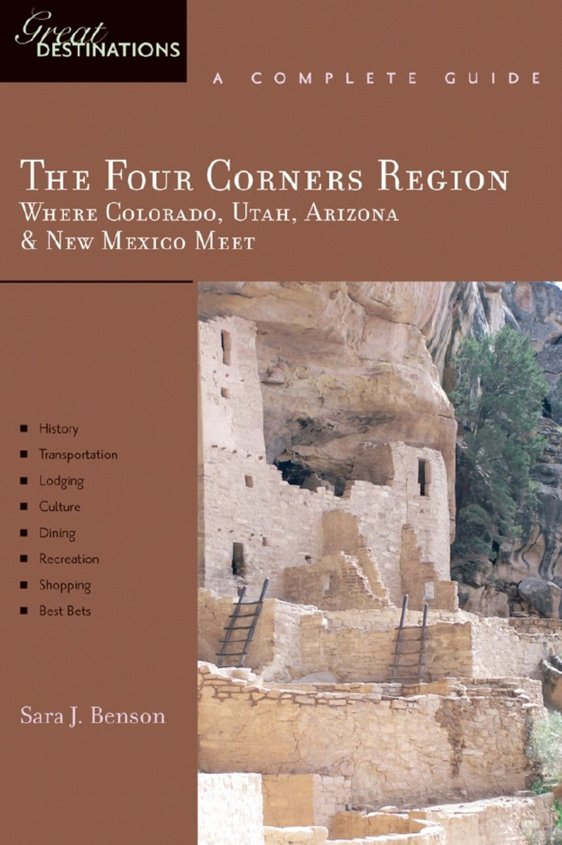 Book cover for Explorer's Guide The Four Corners Region by Sara J. Benson