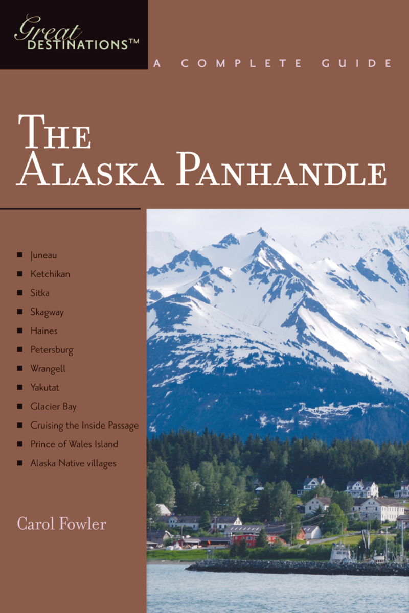 Book cover for Explorer's Guide Alaska Panhandle: A Great Destination by Carol Fowler