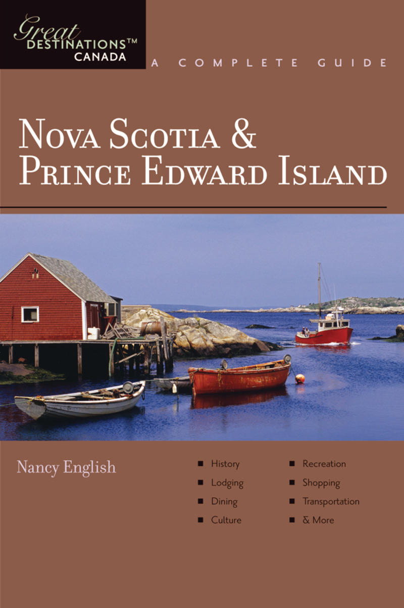 Book cover for Explorer's Guide Nova Scotia & Prince Edward Island: A Great Destination by Nancy English