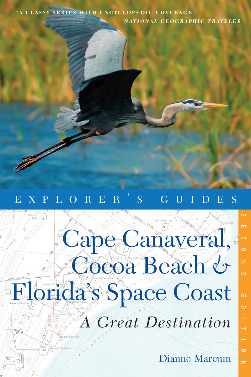 Book cover for Explorer's Guide Cape Canaveral, Cocoa Beach & Florida's Space Coast: A Great Destination by Dianne Marcum