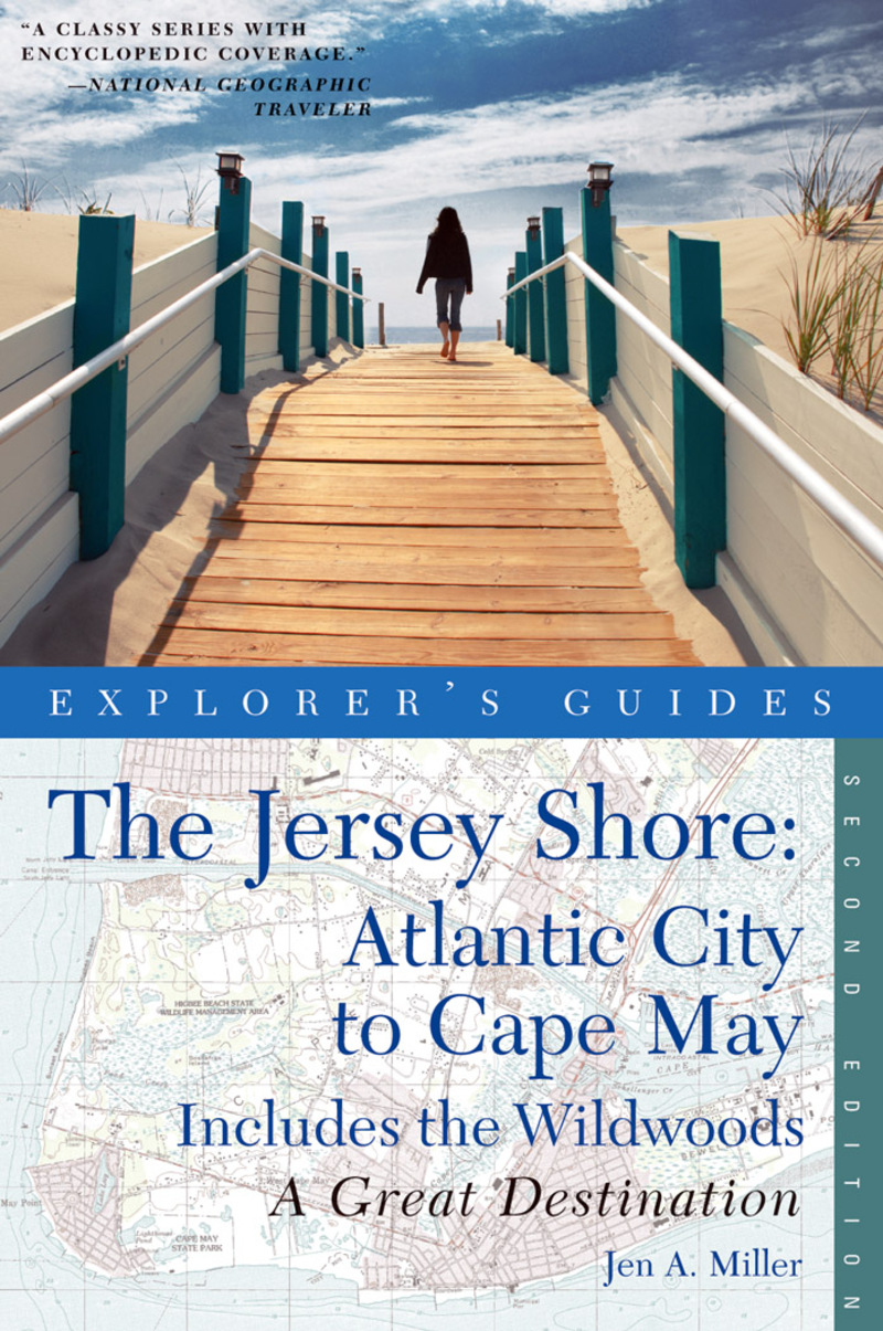 Book cover for Explorer's Guide Jersey Shore: Atlantic City to Cape May: A Great Destination by Jen A. Miller
