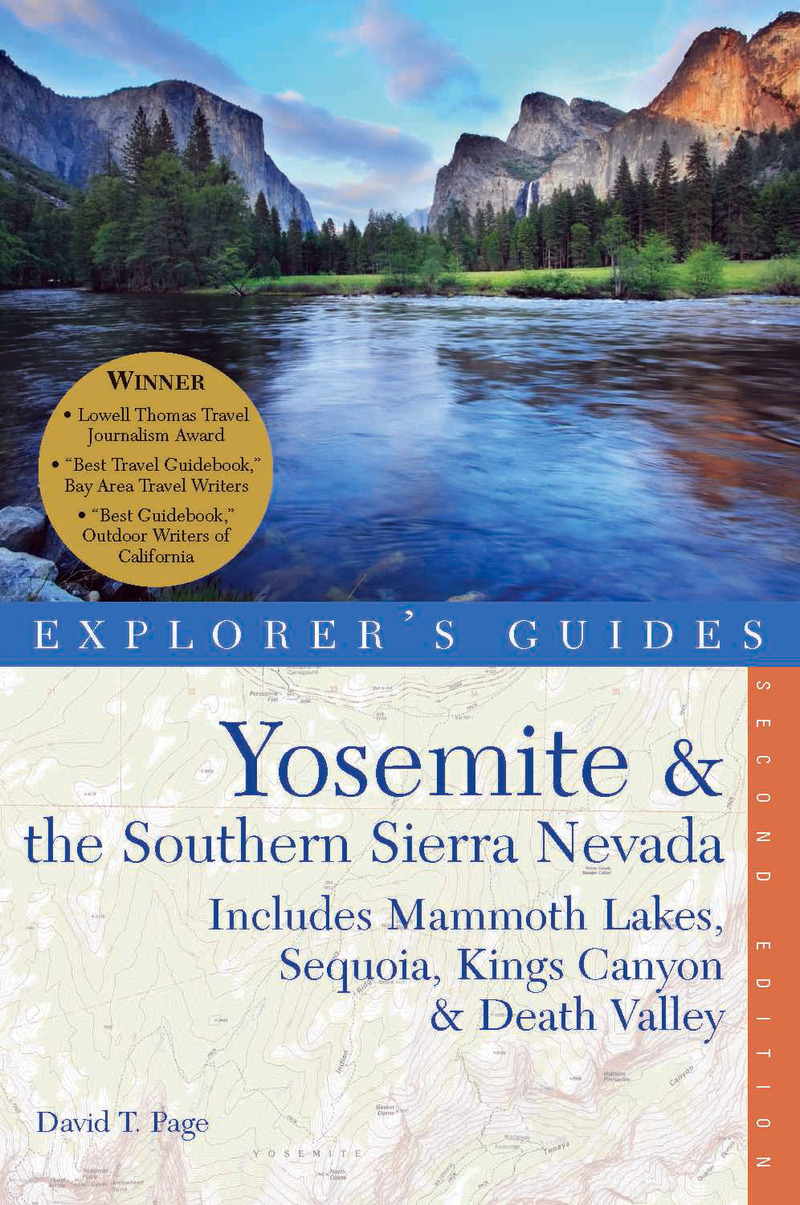 Book cover for Explorer's Guide Yosemite & the Southern Sierra Nevada by David T. Page