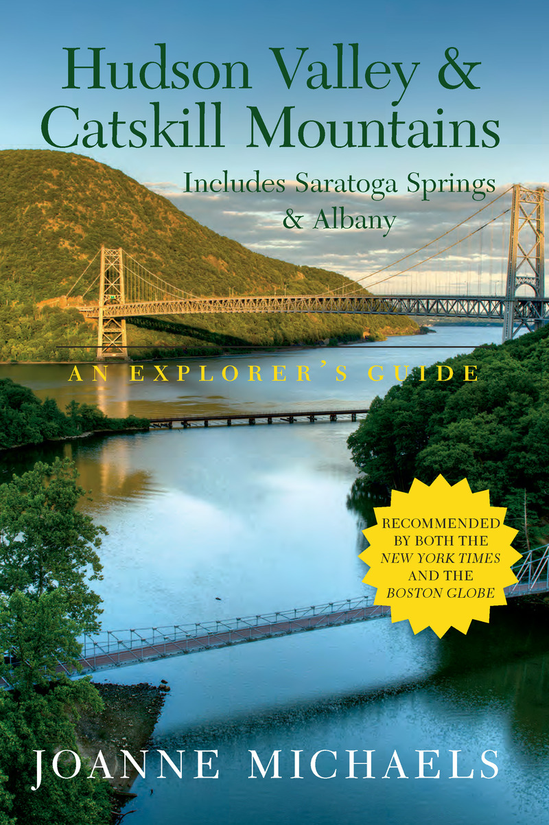 Book cover for Explorer's Guide Hudson Valley & Catskill Mountains by Joanne Michaels