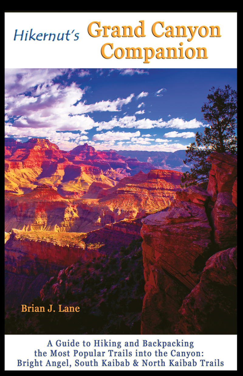 Book cover for Hikernut's Grand Canyon Companion by Brian Lane