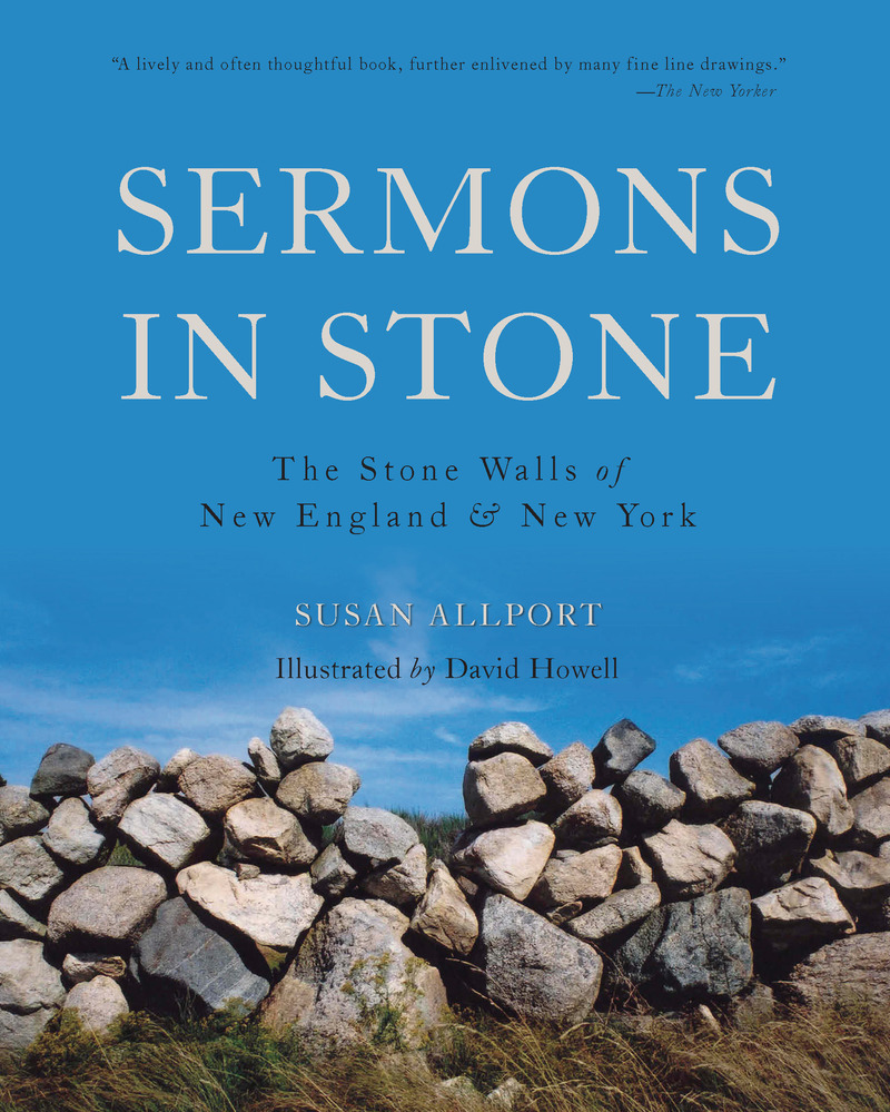 Book cover for Sermons in Stone by Susan Allport