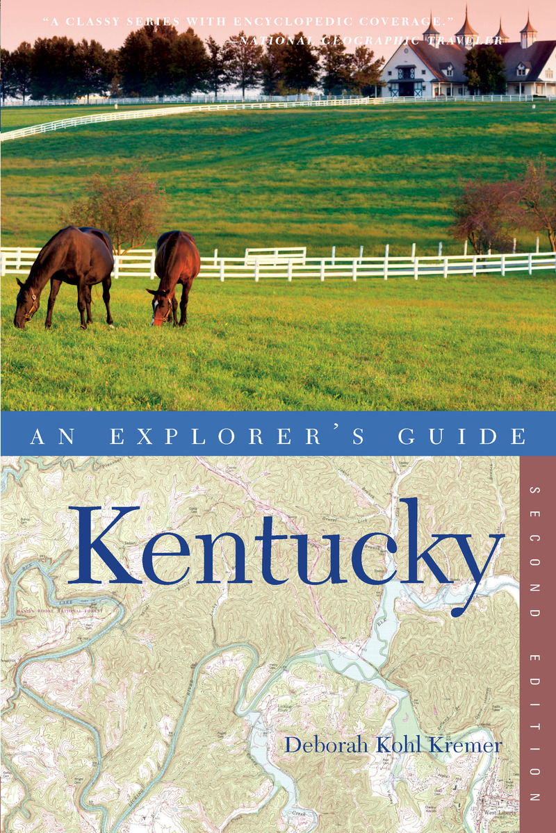 Book cover for Explorer's Guide Kentucky by Deborah Kohl Kremer