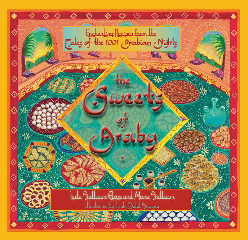 Book cover for The Sweets of Araby by Muna Salloum