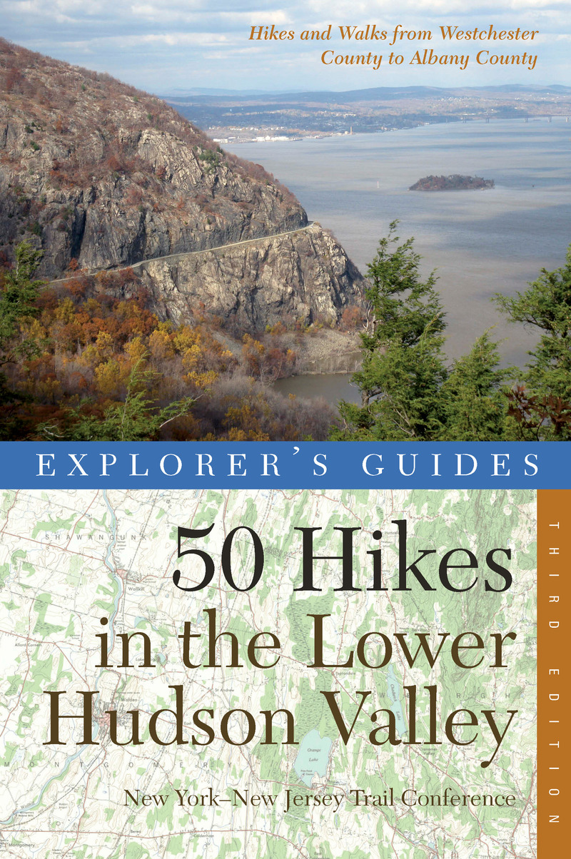 Book cover for Explorer's Guide 50 Hikes in the Lower Hudson Valley by