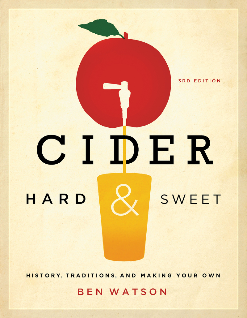 Book cover for Cider, Hard and Sweet by Ben Watson