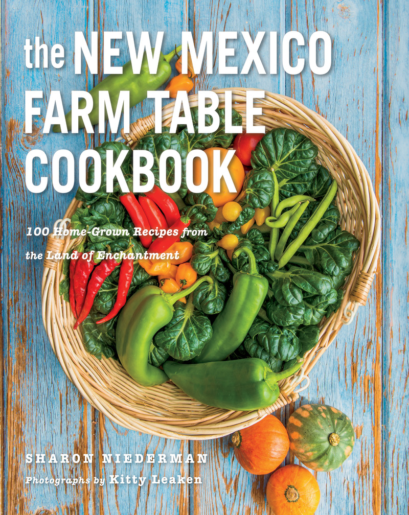 Book cover for The New Mexico Farm Table Cookbook by Sharon Niederman