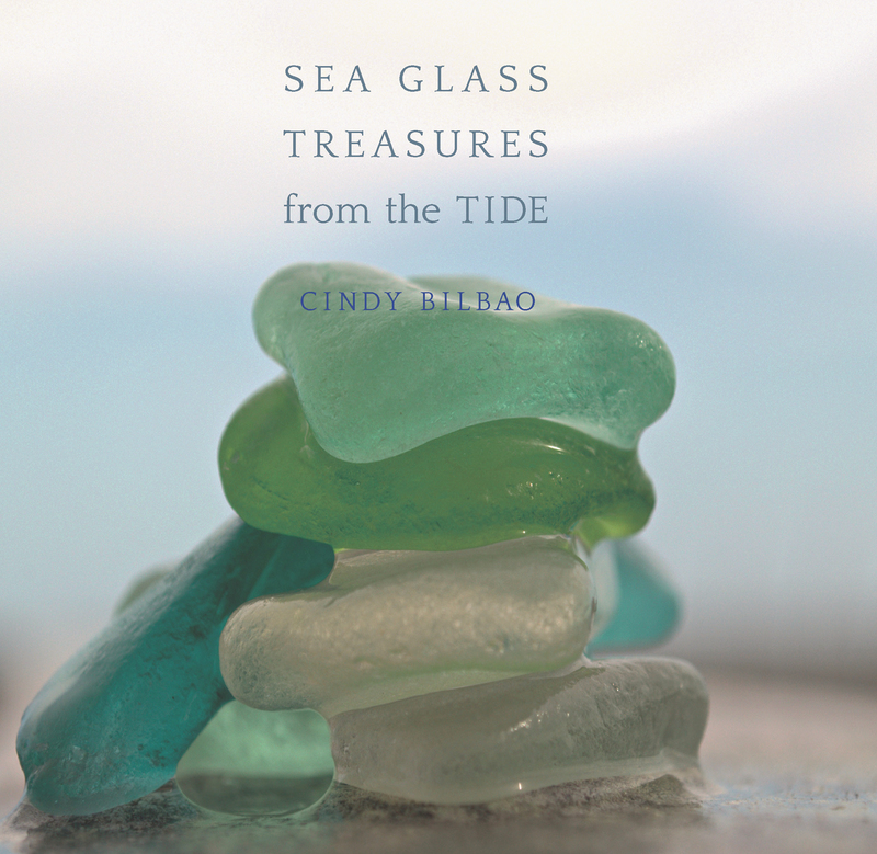 Book cover for Sea Glass Treasures from the Tide by Cindy Bilbao