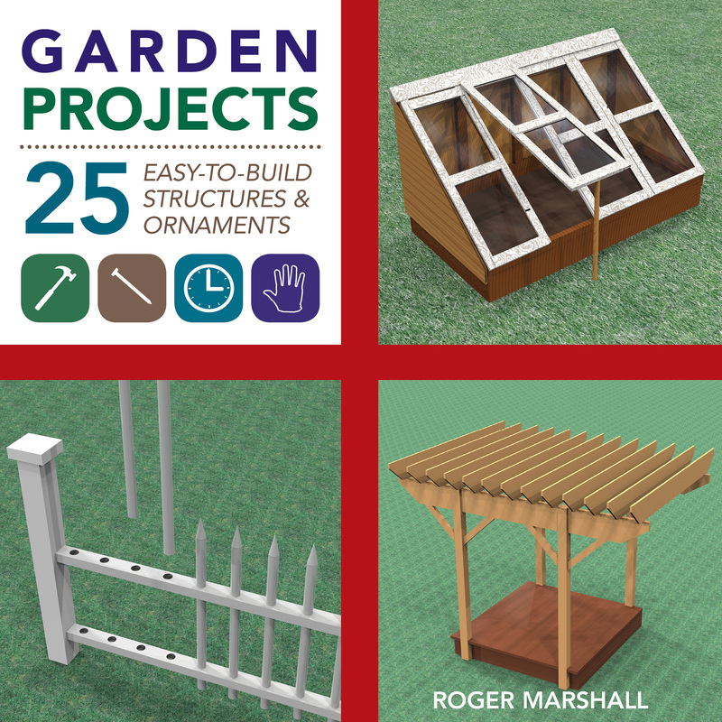Book cover for Garden Projects by Roger Marshall