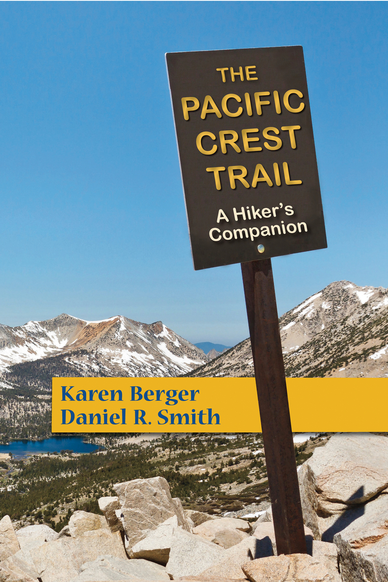 Book cover for The Pacific Crest Trail by Karen Berger