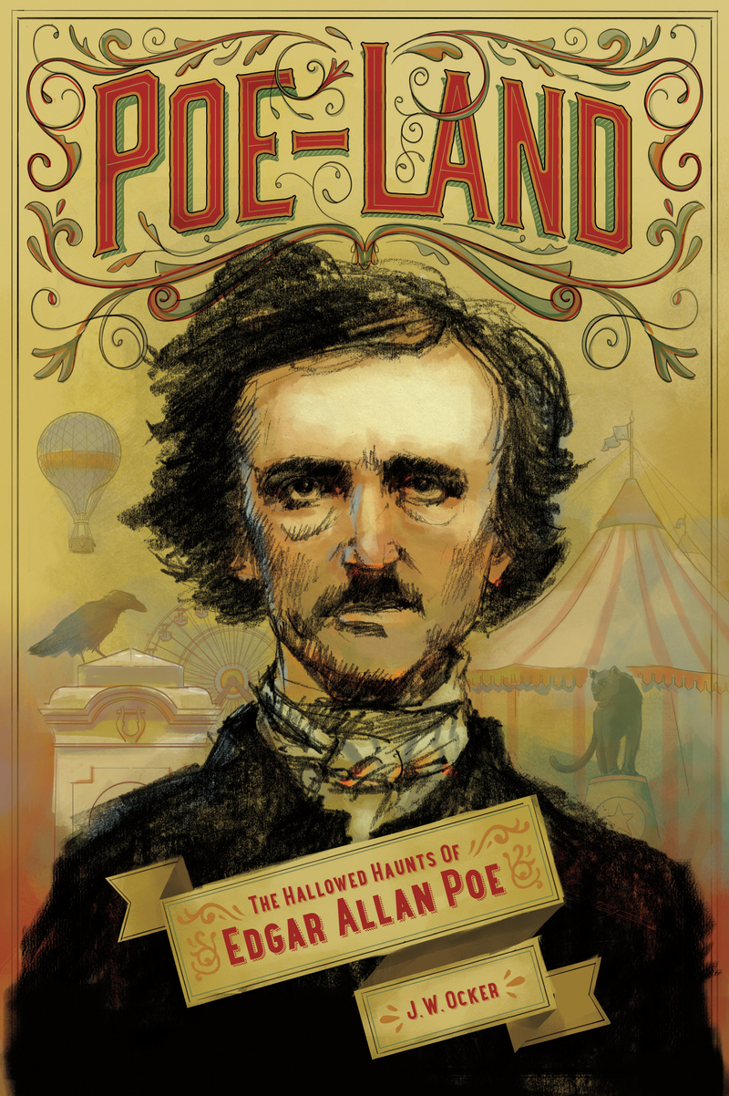 Book cover for Poe-Land by J. W. Ocker