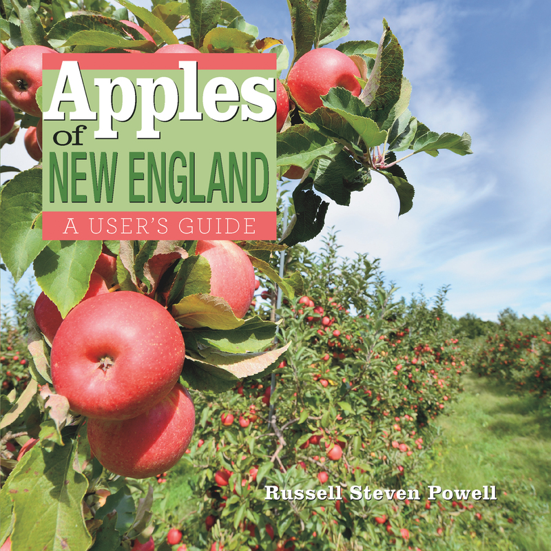 Book cover for Apples of New England by Russell Powell