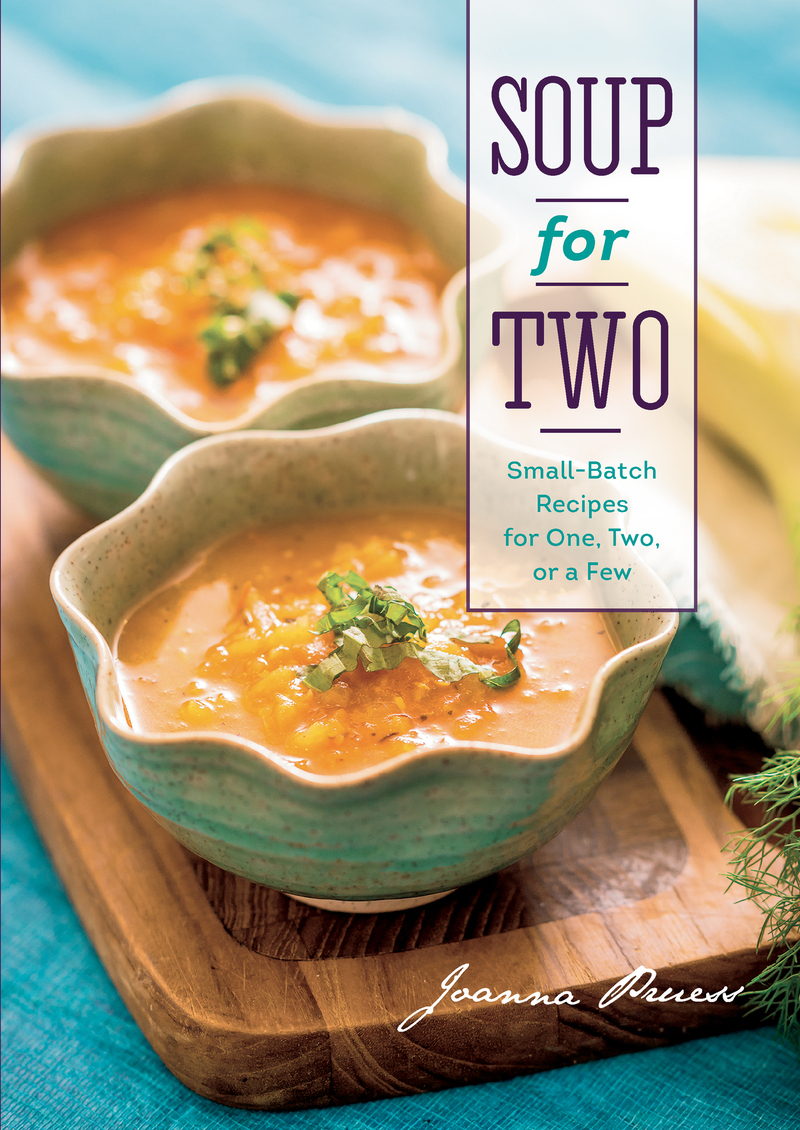 Book cover for Soup for Two by Joanna Pruess