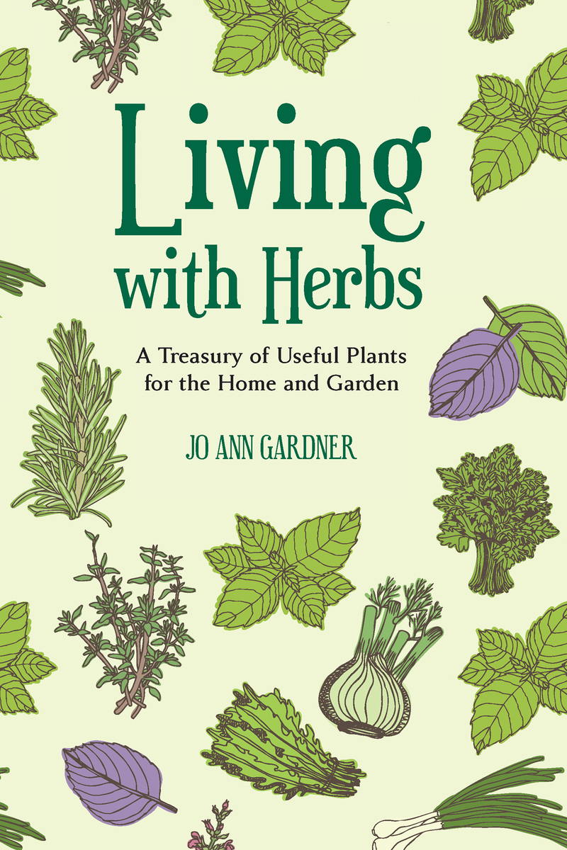 Book cover for Living with Herbs by Jo Ann Gardner
