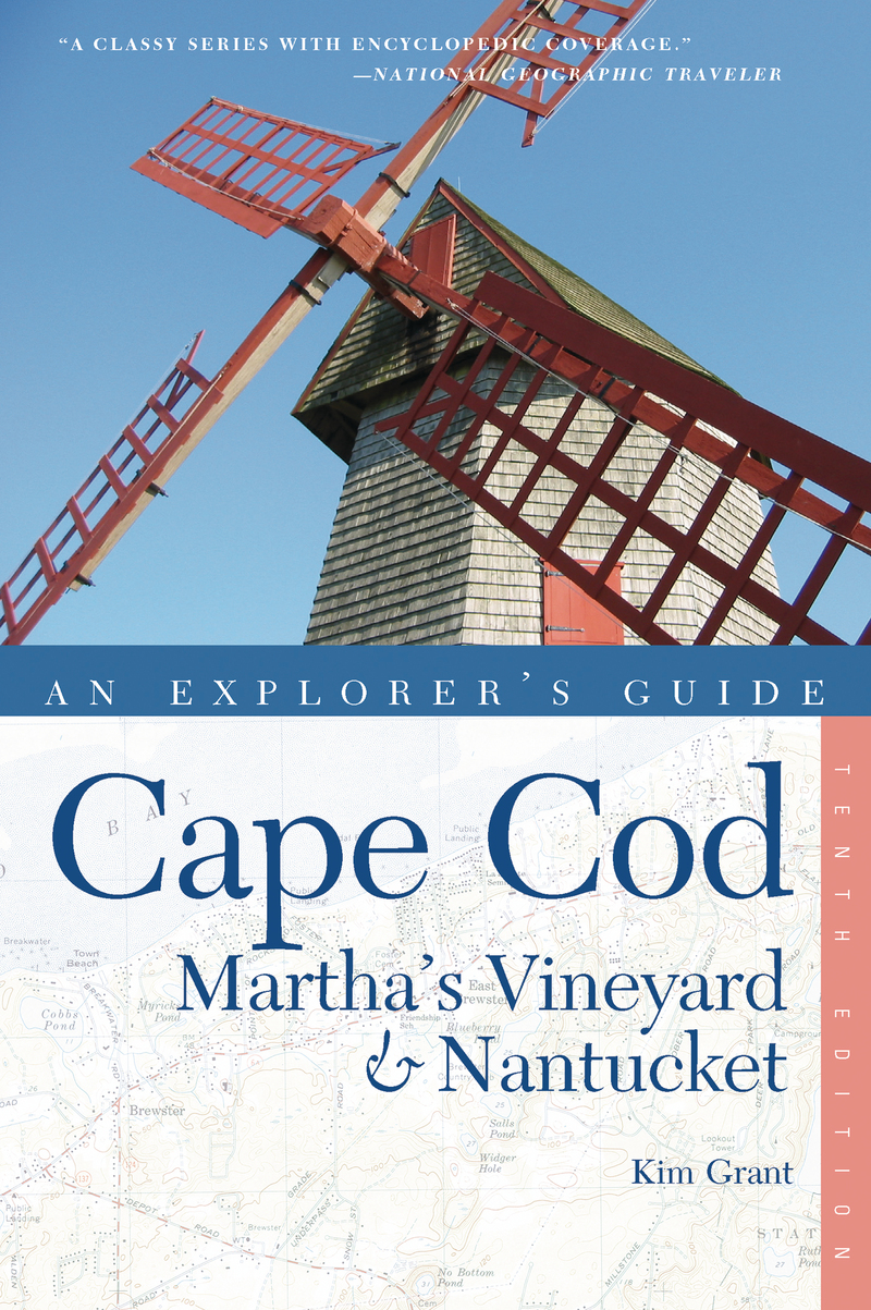 Book cover for Explorer's Guide Cape Cod, Martha's Vineyard & Nantucket by Kim Grant