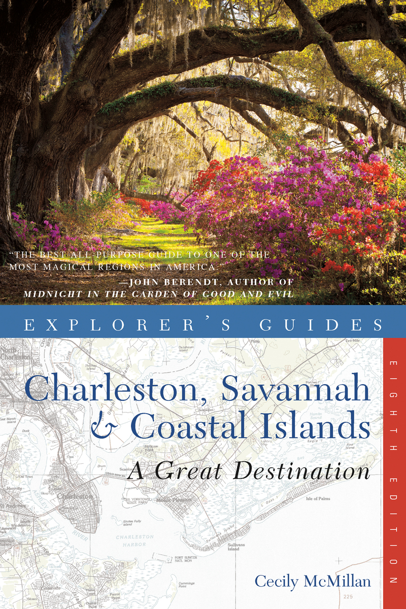 Book cover for Explorer's Guide Charleston, Savannah & Coastal Islands: A Great Destination by Cecily McMillan