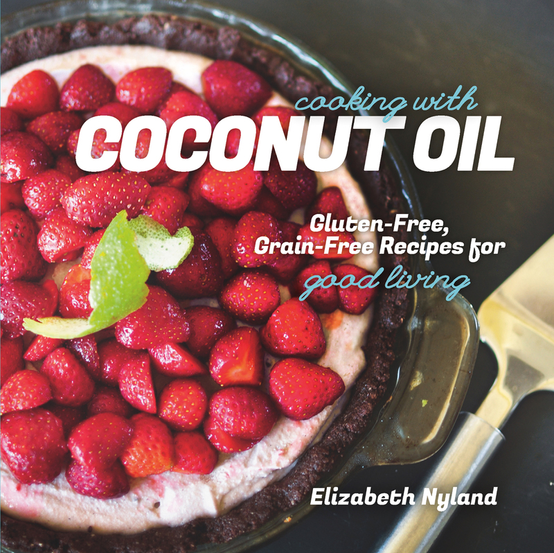 Book cover for Cooking with Coconut Oil by Elizabeth Nyland