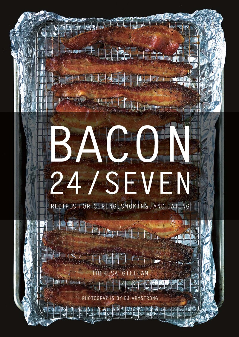Book cover for Bacon 24/7 by Theresa Gilliam