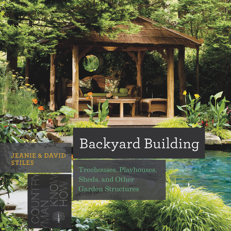Book cover for Backyard Building by Jean Stiles