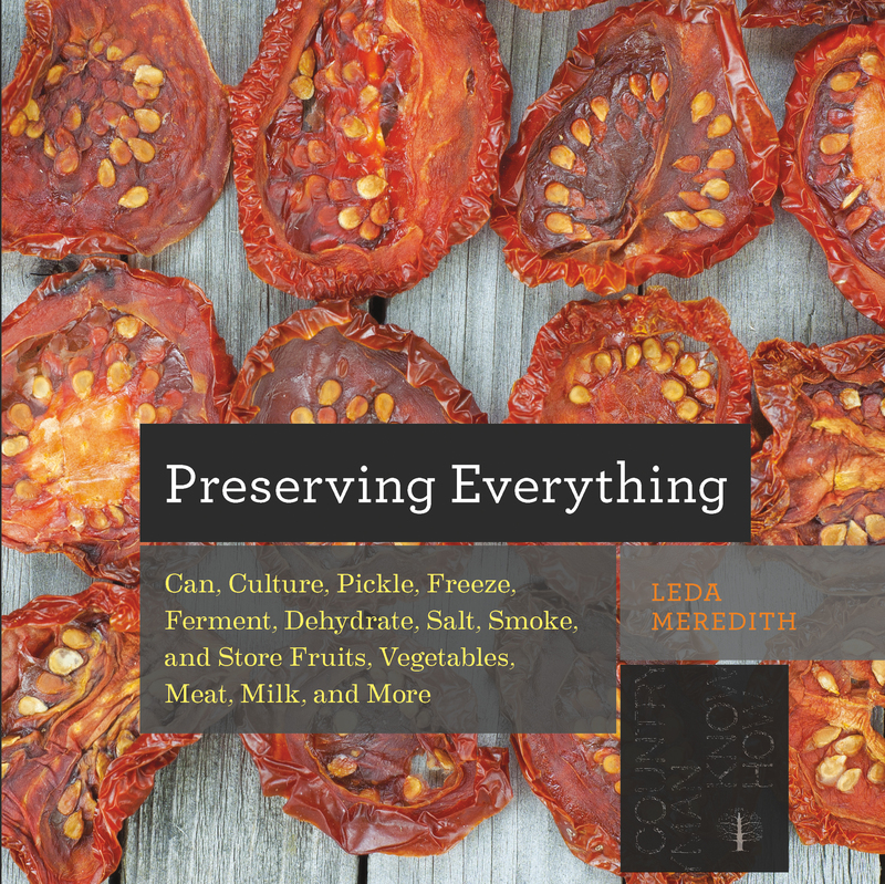 Book cover for Preserving Everything by Leda Meredith