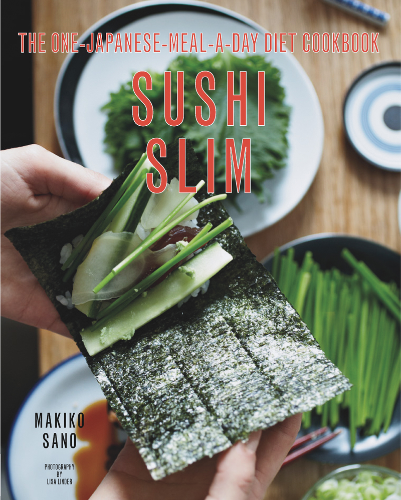 Book cover for Sushi Slim by Makiko Sano