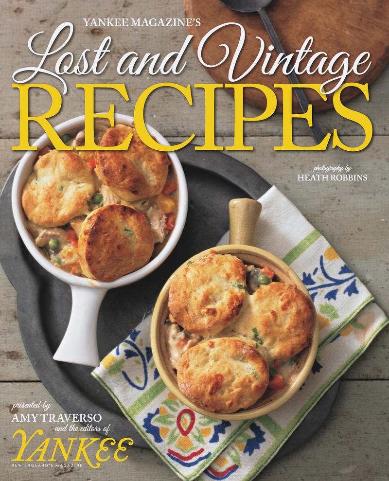 Book cover for Yankee's Lost & Vintage Recipes by