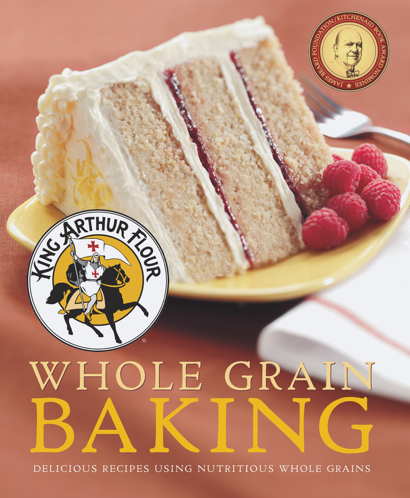 Book cover for King Arthur Flour Whole Grain Baking by