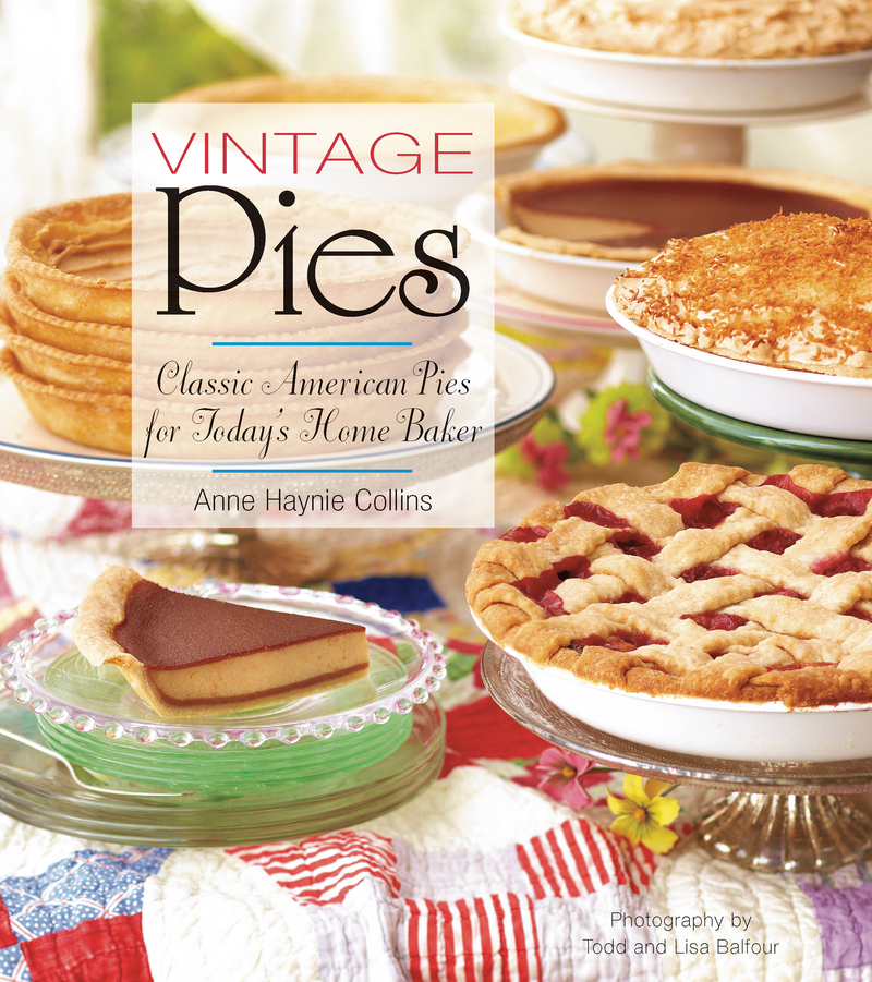Book cover for Vintage Pies by Anne Collins