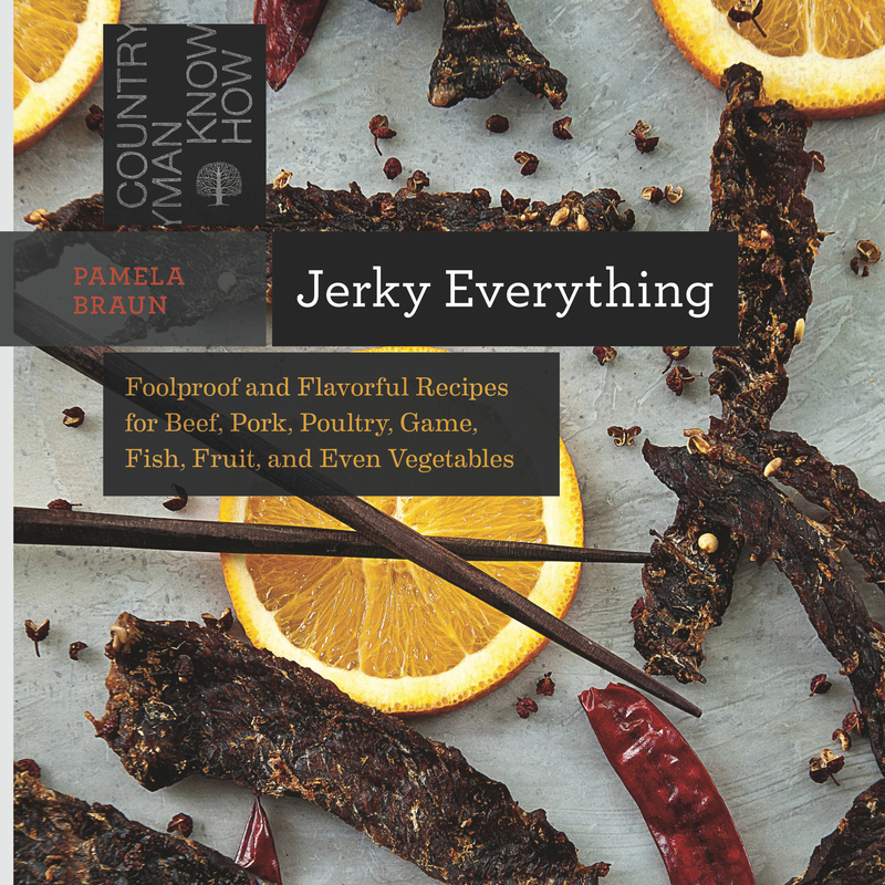 Book cover for Jerky Everything by Pamela Braun