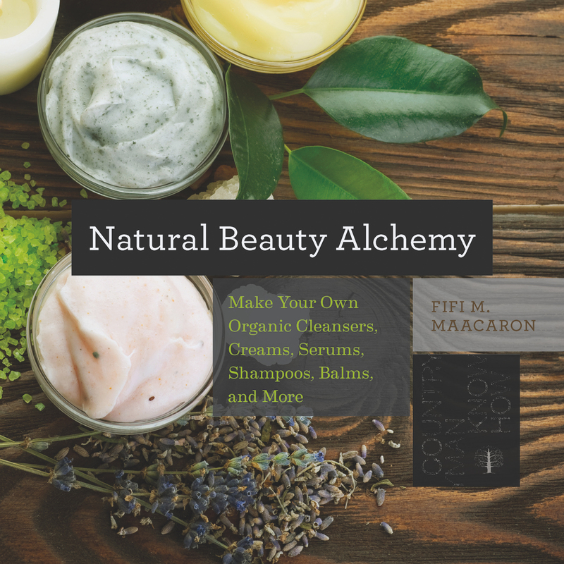 Book cover for Natural Beauty Alchemy by Fifi M. Maacaron