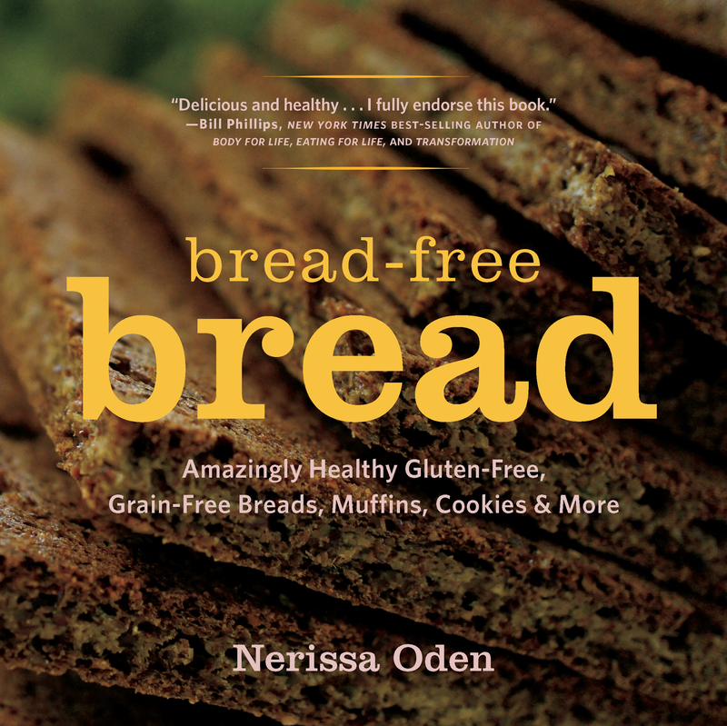 Book cover for Bread-Free Bread by Nerissa Oden