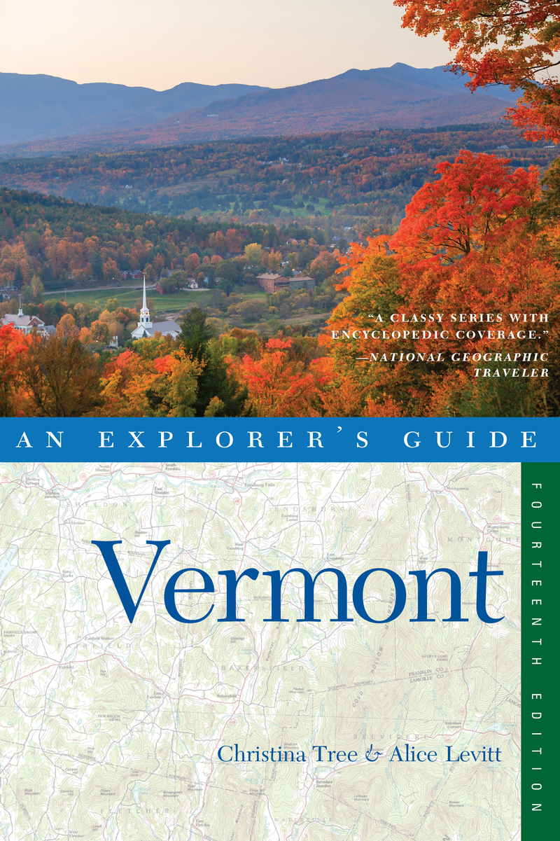 Book cover for Explorer's Guide Vermont by Christina Tree