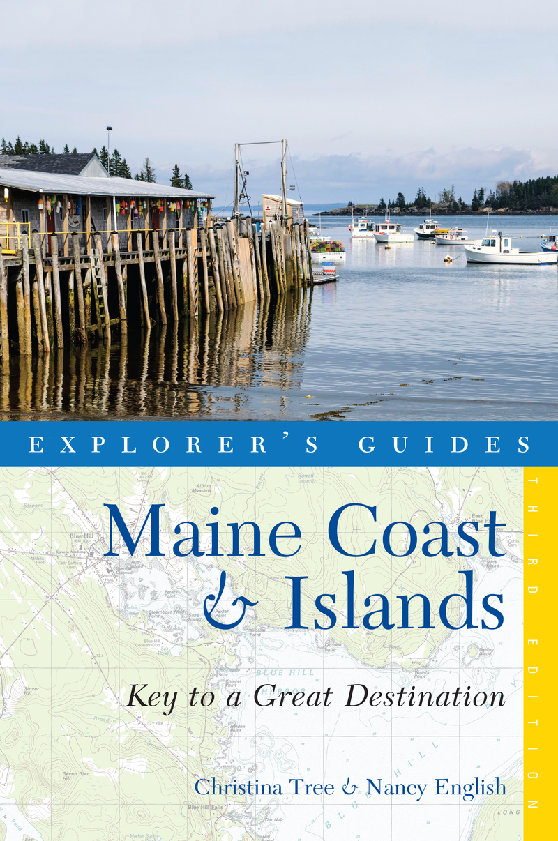 Book cover for Explorer's Guide Maine Coast & Islands: Key to a Great Destination by Nancy English