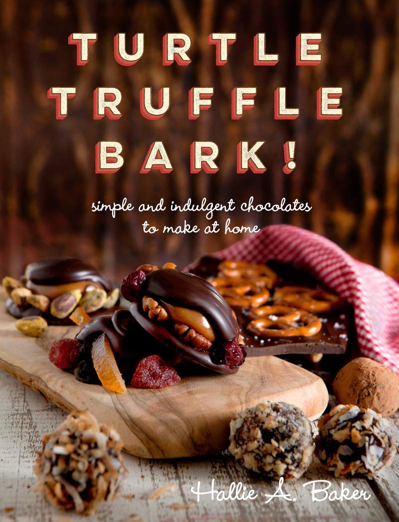 Book cover for Turtle, Truffle, Bark by Hallie Baker