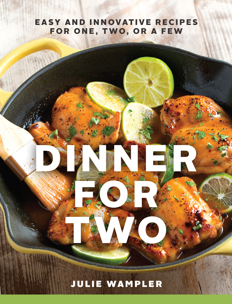 Book cover for Dinner for Two by Julie Wampler