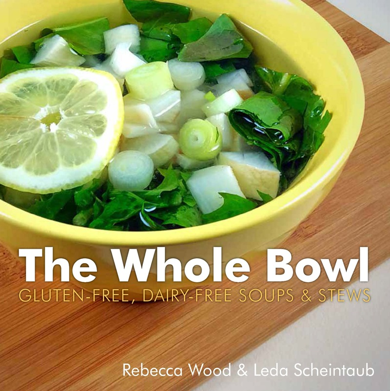 Book cover for The Whole Bowl by Rebecca Wood