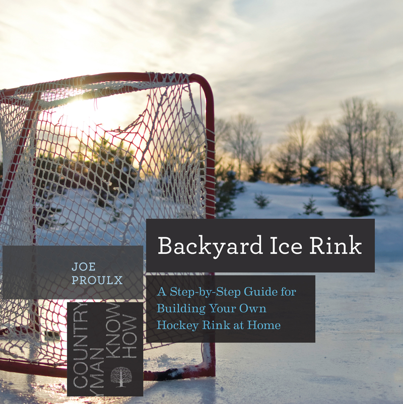 Book cover for Backyard Ice Rink by Joe Proulx