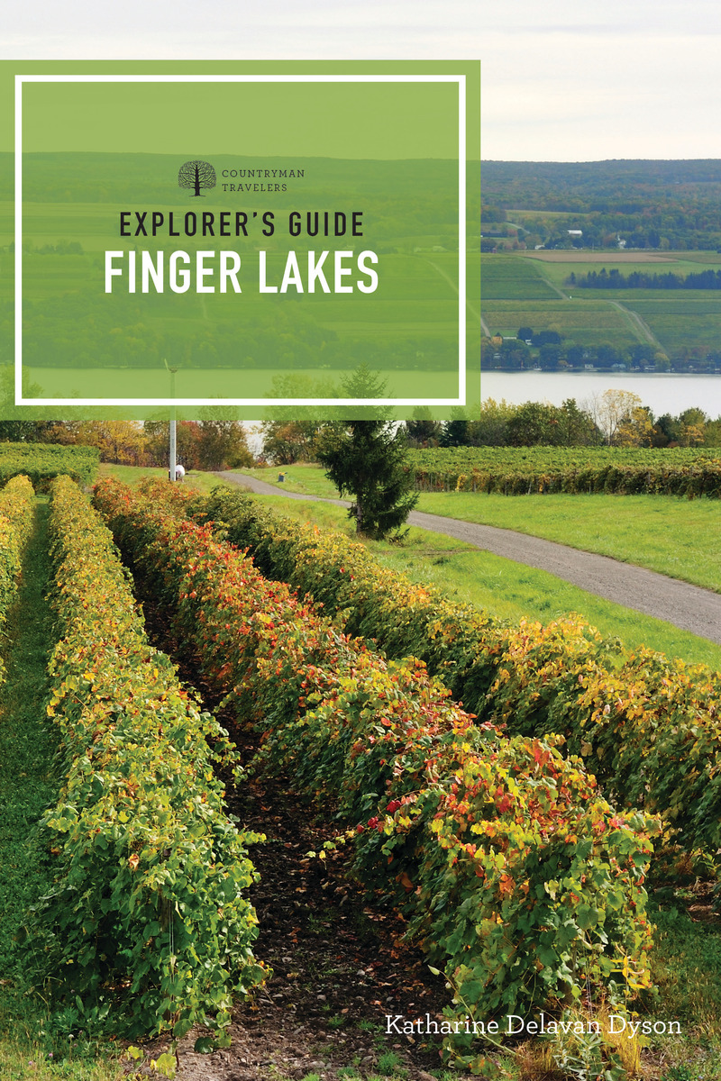 Book cover for Explorer's Guide Finger Lakes by Katharine Delavan Dyson