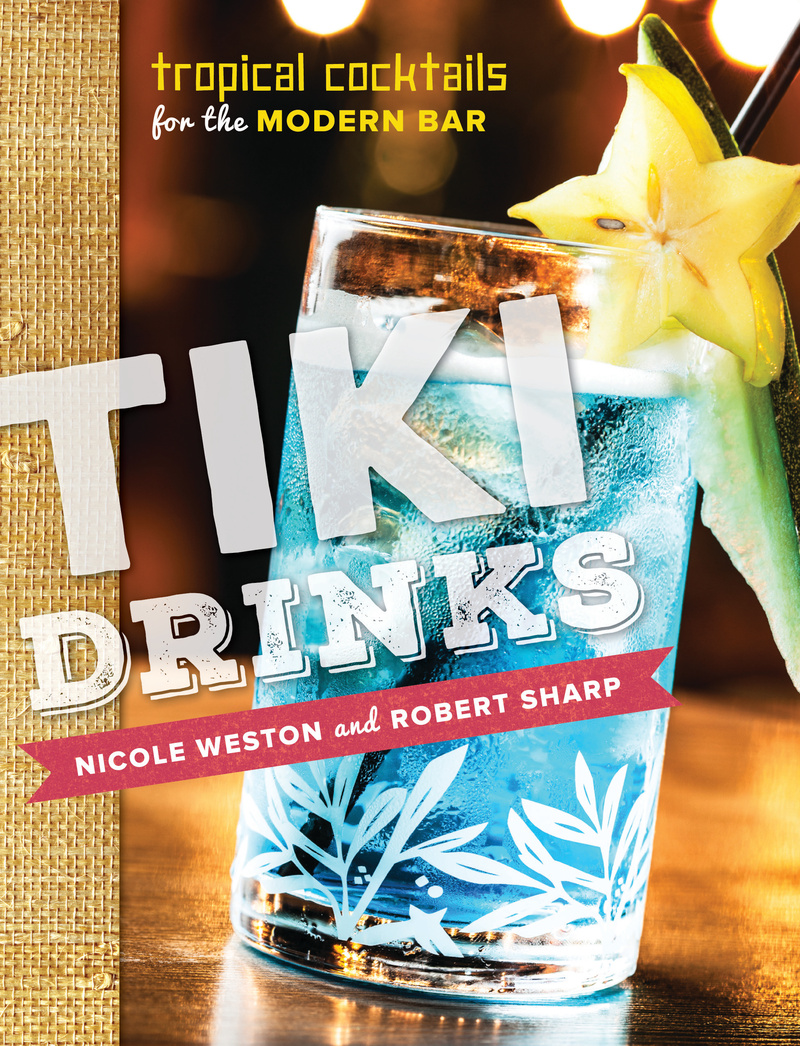 Book cover for Tiki Drinks by Robert Sharp